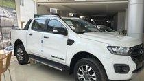 Bán Ford Ranger 2.0l turbo 2018, trắng, nhập khẩu-hỗ trợ trả góp từ 80-90% lãi suất cố định 3 năm - liên hệ 0979572297