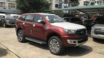 Cần bán Ford Everest Titanium 2.0L 4x2 AT sản xuất năm 2018, màu đỏ, xe nhập