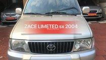 Bán xe Toyota Zace 1.8GL Limited năm 2004, màu bạc