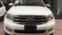 Bán Ford Everest 2.0L Titanium 2018, màu trắng, nhập khẩu nguyên chiếc, liên hệ ngay: 0979572297 để ép giá