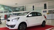 [Siêu giảm] Mitsubishi Mirage giá cực rẻ, màu trắng, nhập khẩu Thái, lợi xăng 5L/100km, cho góp 80%