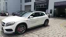 Bán xe Mercedes GLA45 nhập khẩu, màu trắng, động cơ AMG, lướt 2500km, chính hãng