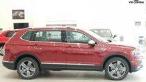 SUV 7 chỗ Tiguan Allspace màu đỏ, giao ngay - nhập khẩu chính hãng Volkswagen, hotline 090.898.8862