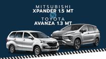 MPV 7 chỗ dưới 600 triệu đồng: Đọ sức Toyota Avanza 1.3MT và Mitsubishi Xpander 1.5MT