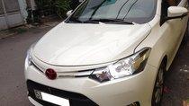 Cần bán xe Toyota Vios đời 2017, số tự động, màu trắng
