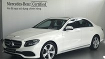 Bán Mercedes E250 2017-xe đã qua sử dụng chính hãng, màu trắng - tiết kiệm ~239 triệu