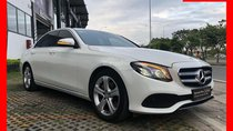 Bán xe Mercedes E250 trắng 2018 như mới, trả trước 750 triệu nhận xe ngay