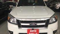 Cần bán Ford Ranger XL 2.5 4x4 MT đời 2011, màu trắng, xe nhập, giá tốt