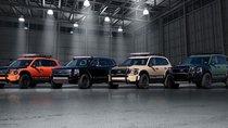 Chưa ra mắt, SUV 8 chỗ Kia Telluride vẫn tự tin hé lộ 4 bản độ mới