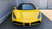 Bán Ferrari 488 Spider màu vàng sản xuất 2018, nhập khẩu nguyên chiếc mới 100%