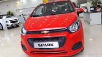 Cần bán xe Chevrolet Spark VAN đời 2018, màu đỏ, giá 299tr