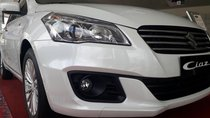 Cần bán xe Suzuki Ciaz năm sản xuất 2018, màu trắng, 499tr nhập khẩu chỉ cần 100tr