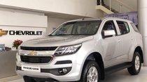 Bán xe 7 chỗ Trailblazer MT 4x2 nhập khẩu máy dầu màu bạc, trả trước 15% - LH: 0945 307 489 Huyền Chevrolet