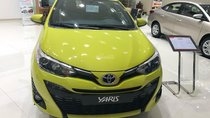 Yaris 1.5G năm sản xuất 2018, màu vàng, nhập khẩu nguyên chiếc xe giao ngay