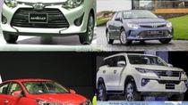 """Xe Toyota """"ôm trọn"""" ngôi vương của các phân khúc ô tô, ngoại trừ một cái tên gặp khó"""