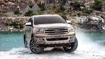 Bán xe Ford Everest 2.0L Bi-Turbo đời 2018, màu nâu