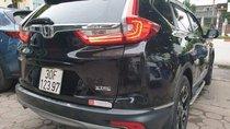 Bán Honda CR V đời 2018, màu đen, xe nhập
