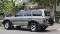 Cần bán Toyota Land Cruiser đời 1995, màu xám, nhập khẩu, giá chỉ 200 triệu