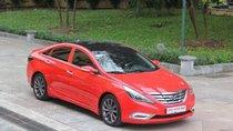 Bán Hyundai Sonata Y20 đời 2010, màu đỏ, xe nhập