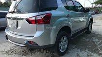 Bán Isuzu mu-X 2.5 4X2 MT năm sản xuất 2016, màu bạc, xe nhập, 750tr