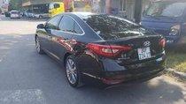 Bán Hyundai Sonata 2.0AT 2015 nhập Hàn Quốc màu đen, nội thất da bò mới, lăn bánh 23.000km