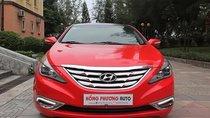 Bán Hyundai Sonata Y20 đời 2010, màu đỏ, xe nhập như mới