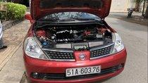 Bán ô tô Nissan Tiida đời 2008, màu đỏ, nhập khẩu nguyên chiếc