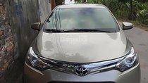 Cần bán Toyota Vios 1.5G năm sản xuất 2016, màu vàng chính chủ, giá 539tr