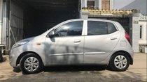 Cần bán lại xe Hyundai i10 đời 2013, màu bạc, xe nhập