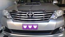 Bán ô tô Toyota Fortuner đời 2013, màu bạc, còn mới