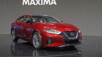 """[Los Angeles 2018] Nissan Maxima 2019 facelift """"dao kéo"""" ngoại hình, """"độn"""" thêm nội thất"""