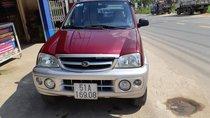 Cần bán Daihatsu Terios 1.3 4x4 MT năm 2004, màu đỏ, giá tốt