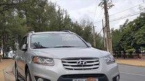 Cần bán gấp Hyundai Santa Fe SLX sản xuất 2010, màu bạc, nhập khẩu nguyên chiếc