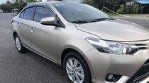 Cần bán lại xe Toyota Vios 2017, màu vàng, giá tốt