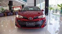 Bán Toyota Vios E đời 2018, màu đỏ, số sàn