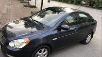 Cần bán lại xe Hyundai Verna đời 2009, màu đen, nhập khẩu, số tự động