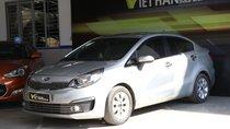 Bán Kia Rio Sedan 1.4MT màu bạc, số sàn, nhập, Hàn Quốc 2016, biển tỉnh đi 45000km