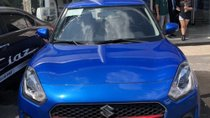Cần bán Suzuki Swift 1.2L AT đời 2018, màu xanh lam, giá 499tr