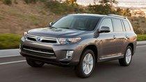 Toyota Highlander gặp lỗi rơi trục vô-lăng nguy hiểm