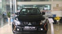 Bán ô tô Mitsubishi Triton 2018, màu đen, nhập khẩu, 725.5tr