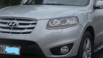 Cần bán lại xe Hyundai Santa Fe đời 2010, màu bạc, giá 780tr