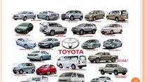 """""""Dàn sao"""" xe Toyota mới lên đến 19 chiếc"""