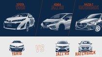 So sánh giá lăn bánh các xe hatchback hạng B mới đang bán tại Việt Nam