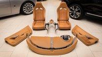 Khám phá bộ nội thất 10 năm tuổi trị giá 150.000 USD của Bugatti Veyron