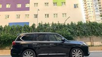 Cần bán lại xe Lexus LX 570 sản xuất năm 2015, màu đen, xe nhập số tự động
