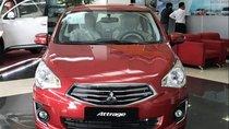 Cần bán xe Mitsubishi Attrage MT - ECO đời 2018, màu đỏ, nhập khẩu