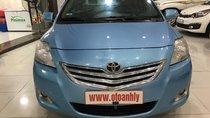 Cần bán Toyota Vios đời 2010, màu xanh lam số sàn