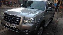 Cần bán lại xe Ford Everest sản xuất 2008, màu bạc chính chủ, giá chỉ 320 triệu
