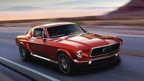 Chiêm ngưỡng mẫu Ford Mustang cổ độ động cơ điện của người Nga