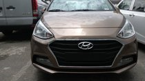 Bán Hyundai Grand I10 sedan AT vàng cát, hàng hiếm, có sẵn giao ngay cho khách